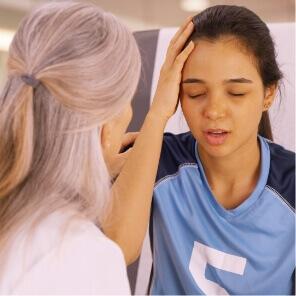 concussion therapy